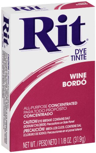 Rit All-Purpose Powder Dye, Wine