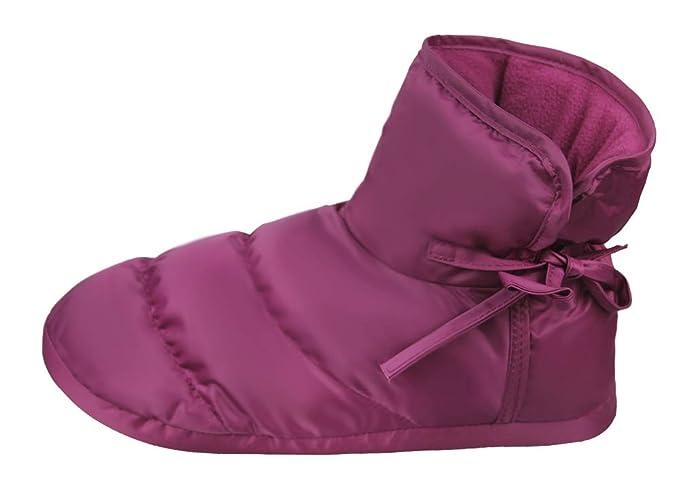 Amazon.com: Pantuflas acolchadas de invierno unisex para ...