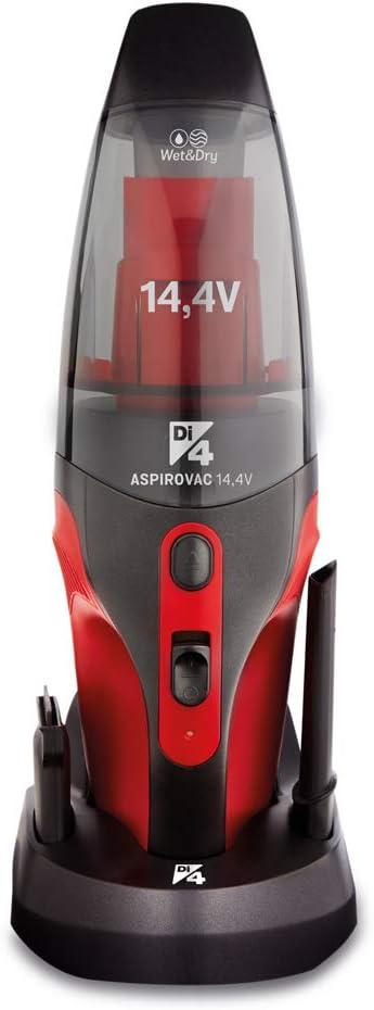 DI4 Aspirovac 14,4V-Aspirador de Mano, Wet & Dry, Ideal para ...