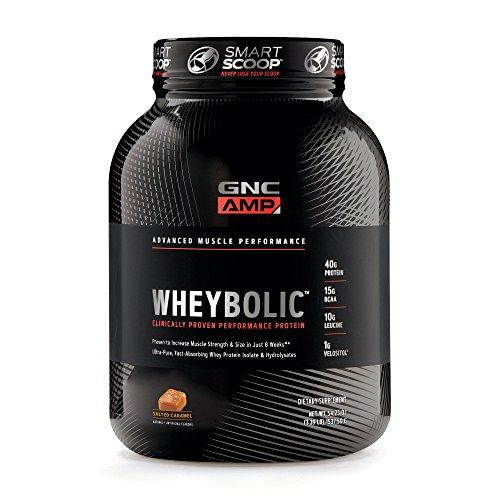 GNC AMP Wheybolic – Salted Caramel