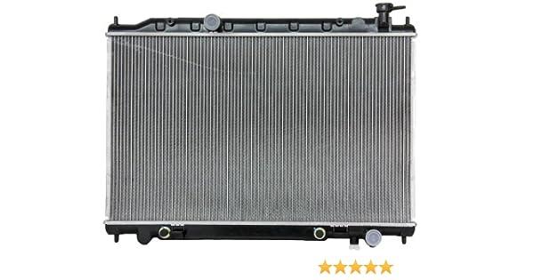 07-08 Maxima 3.5L V6 w//Automatic CVT Trans 1-Row Radiator Assembly 21460-ZK30A