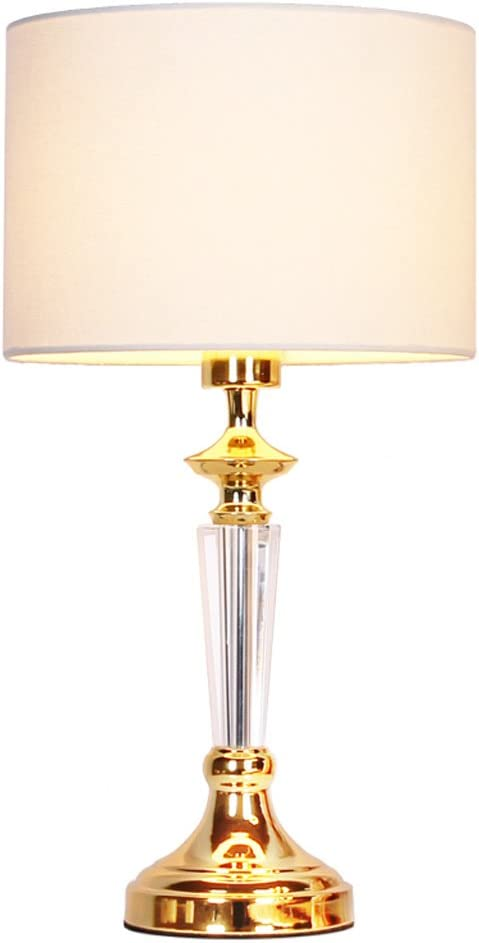 Yxsd Lámpara Dorada Decorativa de la lámpara de Mesa de la Sala de ...