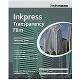 """Inkpress Transparency, 7mil Resin Based Inkjet Film, 13x19"""", 20 Sheets"""