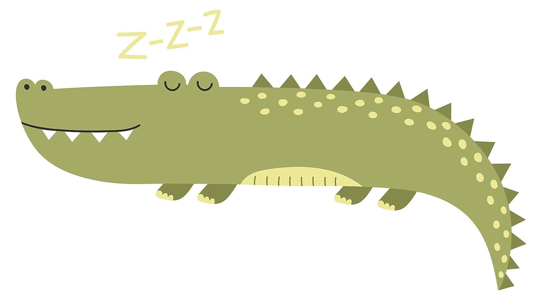 Wandtattoo Afrika Krokodil Wandsticker Alligator Dekoration Tiere