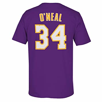 new product 56c74 26205 adidas Shaquille O'Neal Los Angeles Lakers NBA pour Homme ...