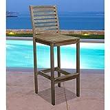 Vifah V1354 Renaissance Outdoor Hand-Scraped Hardwood Bar Chair Review