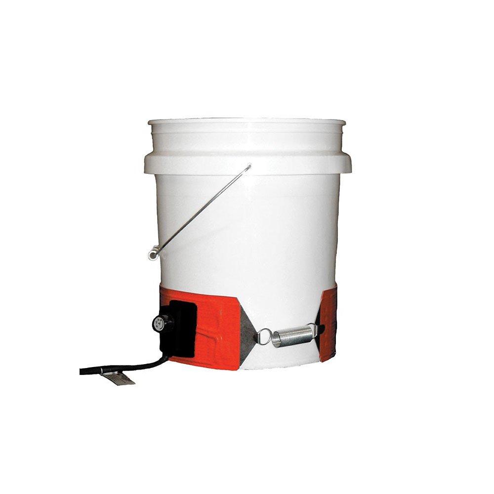 BriskHeat DPCS25 Heavy Duty Drum/Pail Heater for Plastic Drums/Pail, 300W, 240V
