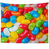jelly bean cotton candy machine - Westlake Art Wall Hanging Tapestry - Yellow Candy - Photography Home Decor Living Room - 51x60in
