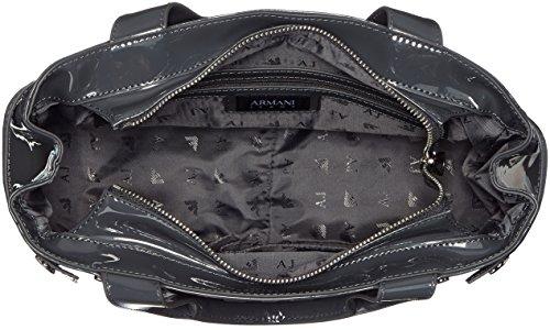 Armani Jeans 922526CC855, Borsa con Maniglia Donna Grigio (Grigio 00143)
