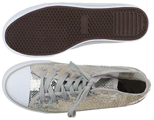 Plata Sintético BRANDSSELLER Zapatillas de Mujer wqIIvC