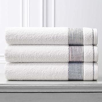 Carnaby Juego de toallas por Kassatex de baño | 95% algodón cardado (cuerpo), 5% poliéster (puño), 600-gram peso - fabricado en Portugal: Amazon.es: Hogar