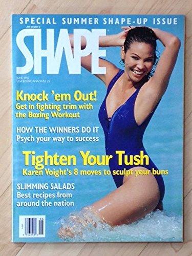 Shape magazine, June 1992, TIghten Your Tush, Boxing Workout