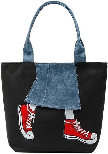 Sale Womens Purse Zipper Pachwork Cowboy Canvas Shoulder Messenger Hobo Top-Handle tote Bag for women Satchels