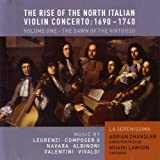 The Rise of the North Italian Violin Concerto: 1690 - 1740