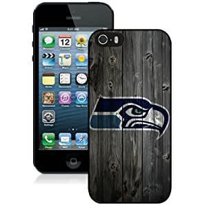 Beautiful And Unique Designed Case For iPhone 5S With Seattle Seahawks 5 Phone Case