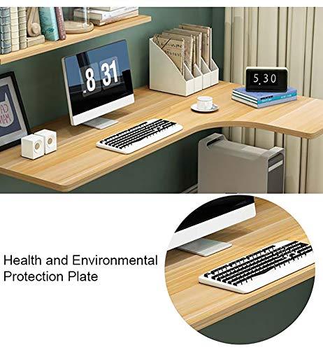 ZXL Hem Kontor Fällbara bord, Väggmonterat Drop-Leaf Bord, Hörn Enkel Flytande Laptop Skrivbord (Storlek: 100 × 60 × 40 cm)