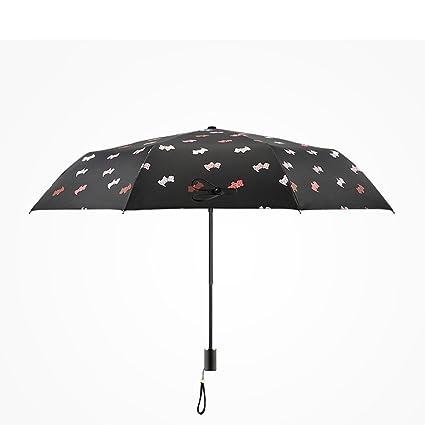 Paraguas – resistente al viento reforzado Animal Sunny paraguas plegable paraguas de sol vinilo anti-