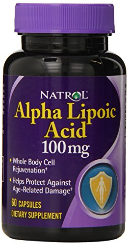 Natrol Alpha Lipoic Acid 100mg Capsules, 60-Count …
