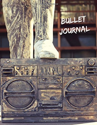 Bullet Journal: Stoned Boom Box, 8.5 x 11 Large Dot Grid Journal Notebook, Blank Dot Grid Paper for Writing, Drawing, Create Gratitude Journal, Daily Planner, Sketch Book, 150 Dotted Pages ebook