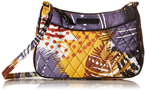 Vera Bradley Little Crossbody, Painted Feathers - Vera Bradley Mini Hipster