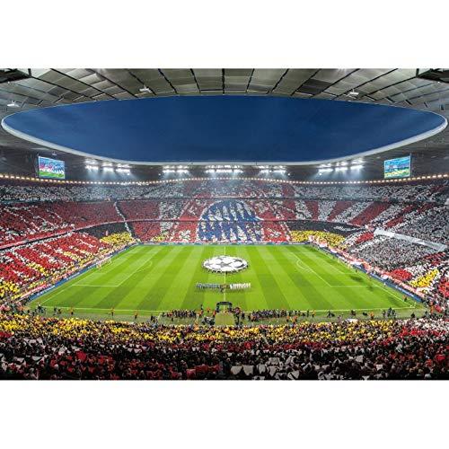 Fototapete Vlies Bayern München Stadion Choreo Immer Immer Immer weiter Arena Bundesliga Fußball Fans Wall-Art 384x260 cm B07KT6D7G7 Wandtattoos & Wandbilder 8e00e7