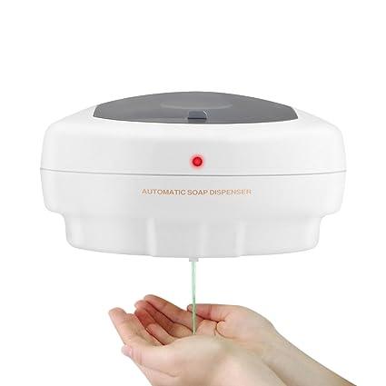 Dispensador de jabón montado en la pared Eliminación de la huella digital Loción líquida Champú automático