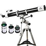 #2: Gskyer Telescope, EQ901000 Astronomy Telescope, German Technology Refractor Telescope