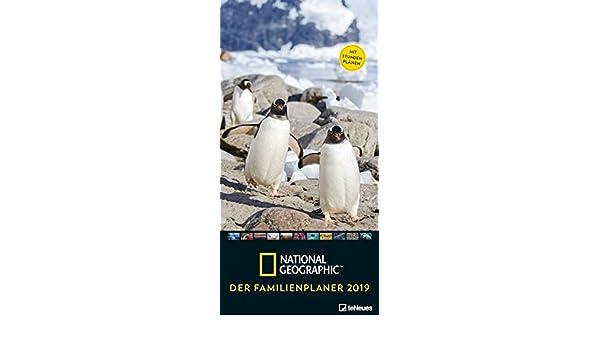 National Geographic: Der Familienplaner 2019: Amazon.es ...
