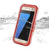 Orange Salamander Waterproof Sealed Capsule Case for Galaxy S7 Edge