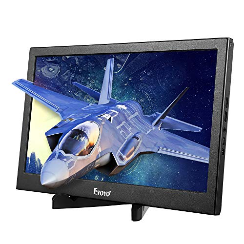 """Price comparison product image Eyoyo 13.3"""" inch Portable Gaming Monitor IPS Dual HDMI Display compatible with Raspberry pi Screen 1920x1080 Resolution Support 4K HDMI Input w/Built-in Speakers compatibl PC PS3 PS4 Xbox One Xbox 360"""