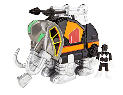 Fisher-Price Imaginext Power Rangers Black Ranger and -
