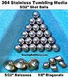Stainless Steel Tumbling Media Shot Balls