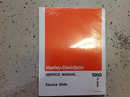 - 1959 1960 1961 1962 1963 1964 1965 1966 1967 1968 1969 Harley Davidson Electra Glide Service Repair Shop Manual