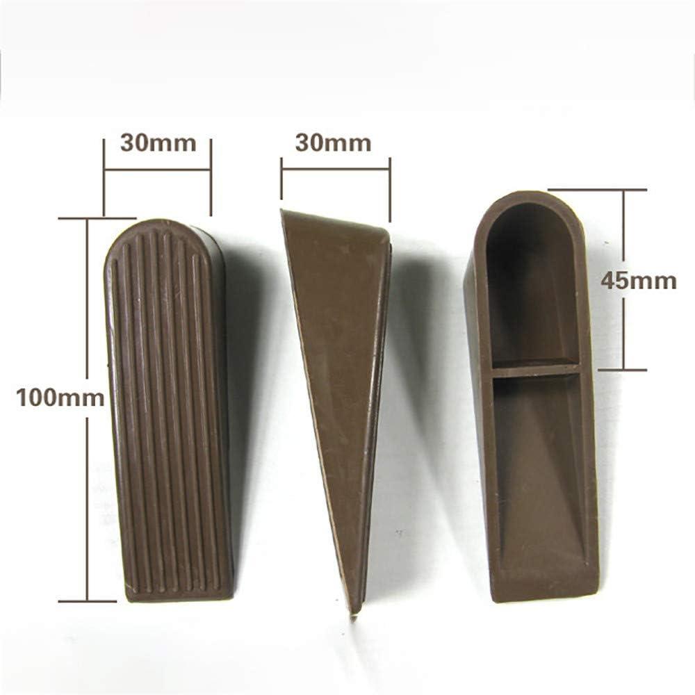 Anti-Collision Rubber Door Stop Topper 3Pcs Heavy Duty Rubber Door Wedge Stops Stopper Home Office