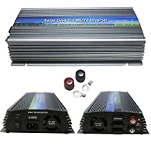 1000W High Power In-buillding Use Solar Grid-tie Micro Power Inverter Converter Pure Sine Wave Inverter Charger (Input 10.5 - 28V DC, Output 90-140V AC)