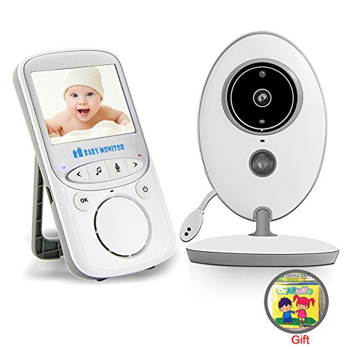 Video Baby Monitor Portable Two Way Talk Back LCD Display lnfrared Night Vision Temperature Monitoring For Sale