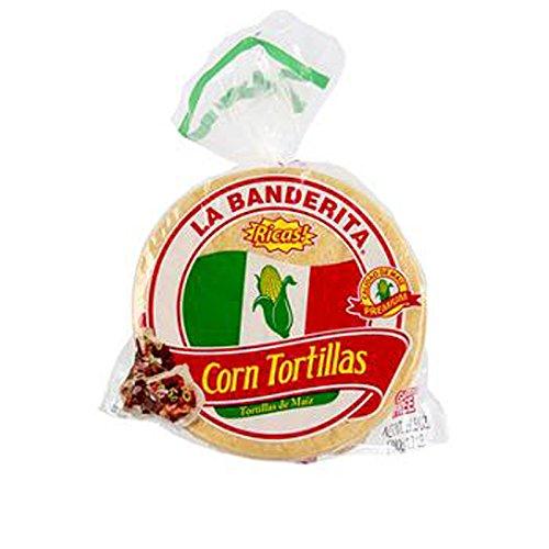 - La Banderita Yellow Corn Tortillas , 1 Count (MEXICAN FOOD)