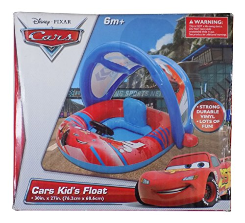 Disney CARS Kid's Float Pool Water Strong Vinyl Blow up Inflatable 6 Months + - Disney Blow Up Pool