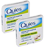 Quies Ear Plugs 8 Pairs-PACK OF 2 [Personal Care] by Quies