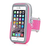 INNLIFE Sports Armband Sweatproof Running Armbag Gym Fitness Workout Cell Phone Case with Key Holder Wallet Card Slot for iPhone 8 7 6 6s Plus Samsung Galaxy S5 S6 S7 S8 Edge 5.5 Inch