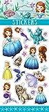 princesse sofia sticker sheets puffy