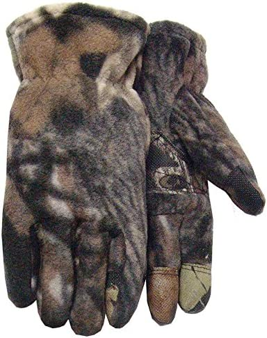 New Windproof Cold Weather Mossy Oak Camo Thinsulate Lined Hunting Gloves XL
