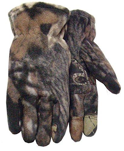 Mossy Oak Camouflage Polar Fleece Glove, 1496, Size: - Fleece Polar Camouflage