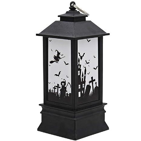 Amazon.com: Halloween Decoración de Navidad LED Lámpara ...