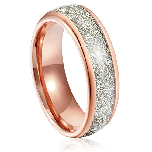 Gold High Polished Domed Ring - 7