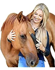 Original for Horses 6-in-1 Shedding Grooming Massage, Horses Neat Pet Grooming Brush, Horse Brushes for Grooming, Strip Hair Gentle Groomer for Horses, Horse Tack Easy to Clean