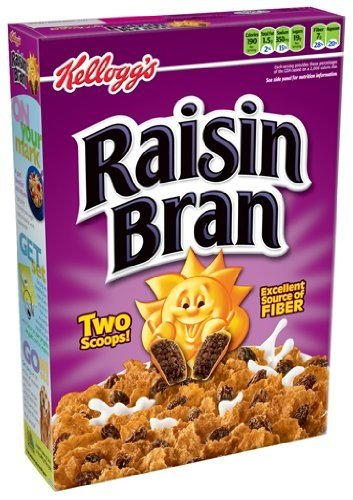 Kellogg's Raisin Bran Cereal, 25.5-Ounce Box