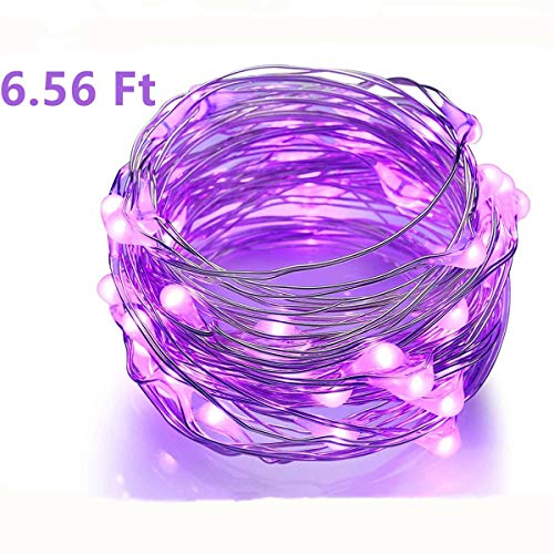 Purple Led Christmas Lights Black Wire in US - 4