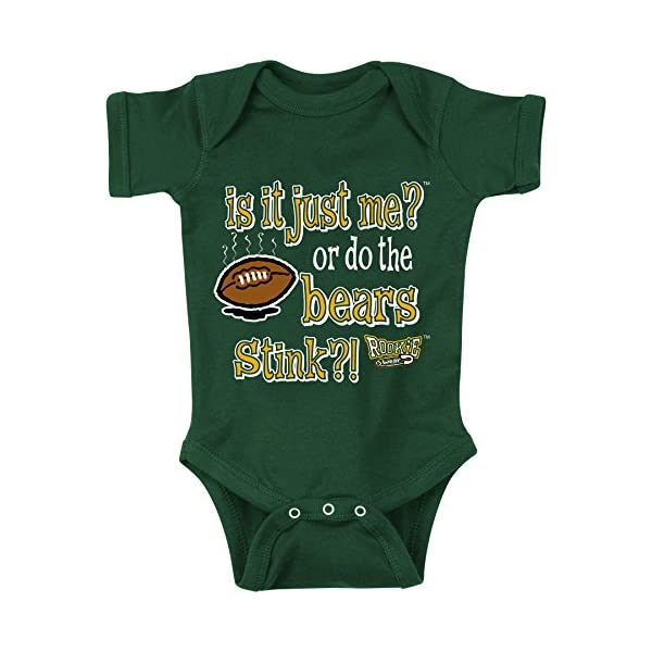 new style 8d487 cfb16 Green Bay Fans. Is It Just Me? Green Onesie (NB-18M) or ...