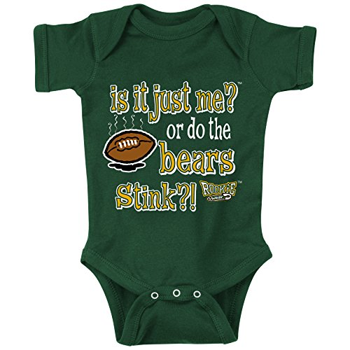 (Green Bay Packers Fans. Is It Just Me? Onesie (6M))